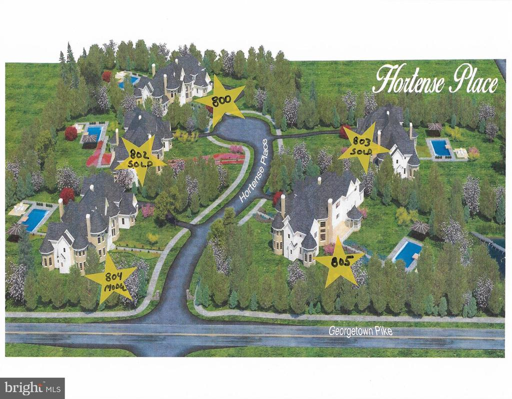 Subdivision Site Plan - 800 HORTENSE PL, GREAT FALLS