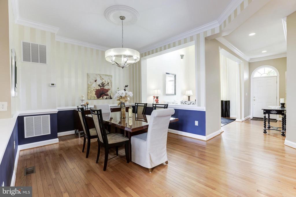 Dining Room - 18348 FAIRWAY OAKS SQ, LEESBURG