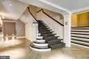 Grand stairwell - 1745 N ST NW #210, WASHINGTON