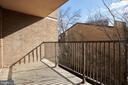 Balcony - 4 MONROE ST #302, ROCKVILLE