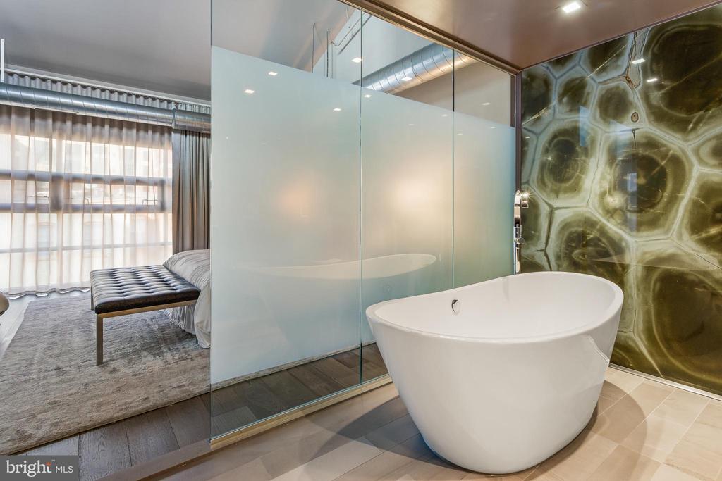 Master Bathroom Soaking Tub - 2125 14TH ST NW #301W, WASHINGTON