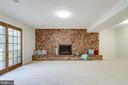 Cozy up here. Room for a large sectional - 9211 ANTELOPE PL, SPRINGFIELD