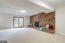 New Carpet. Gas Fireplace, Egress to Yard. - 9211 ANTELOPE PL, SPRINGFIELD