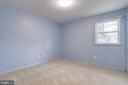 Spacious bedrooms with newer carpet - 9211 ANTELOPE PL, SPRINGFIELD