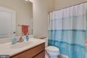 Upper Level Hall Bathroom - 8 LAMPLIGHTER LN, STAFFORD