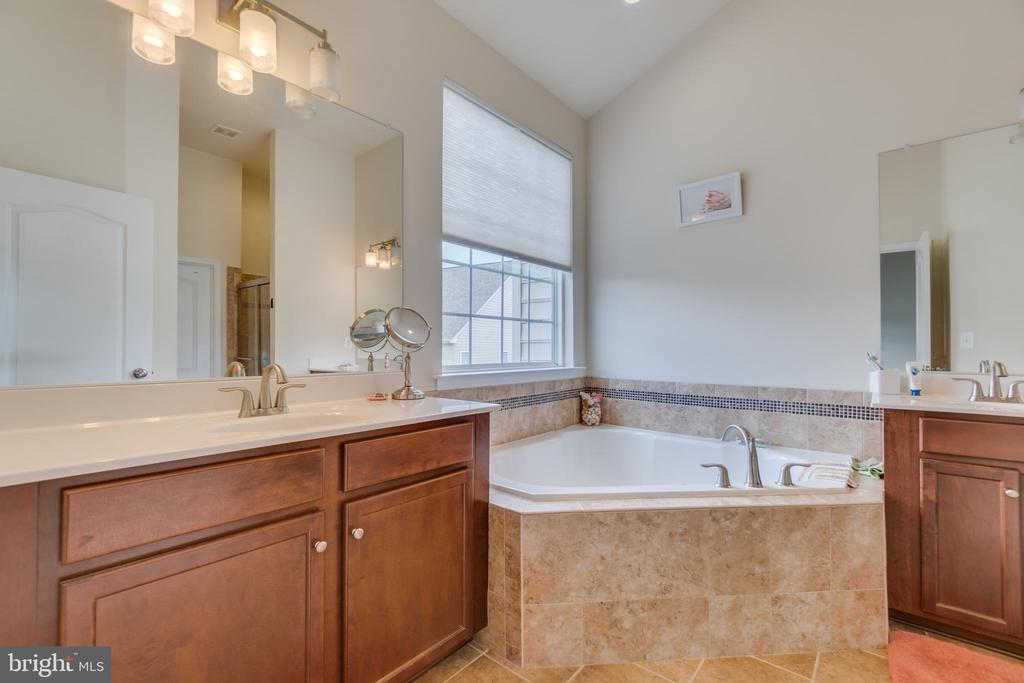 Corner Tub, Walk-in Master Closet Off Bathroom - 8 LAMPLIGHTER LN, STAFFORD