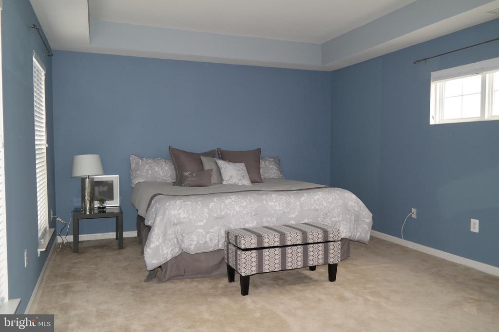 Master Bedroom suite with tray ceiling... - 134 BRADDOCK ST, CHARLES TOWN