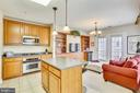 Kitchen - 802 GRAND CHAMPION DR #11-302, ROCKVILLE
