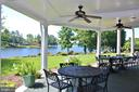 Outdoor Patio dinning at Country Club - 11519 GENERAL WADSWORTH DR, SPOTSYLVANIA