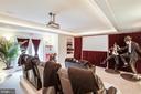Theater room - 11400 STONEWALL JACKSON DR, SPOTSYLVANIA