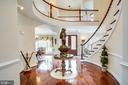 Grand foyer - 11400 STONEWALL JACKSON DR, SPOTSYLVANIA