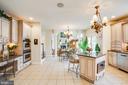 Gourmet kitchen - 11400 STONEWALL JACKSON DR, SPOTSYLVANIA