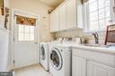 Separate laundry room with a sink - 11400 STONEWALL JACKSON DR, SPOTSYLVANIA