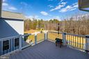 THIS DECK RIGHT OFF THE DINING ROOM - 9630 SOUTHLAKE DR, SPOTSYLVANIA
