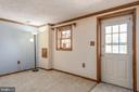 Bedroom 5 in basement w/ separate exterior door - 42 MOURNING DOVE DR, STAFFORD