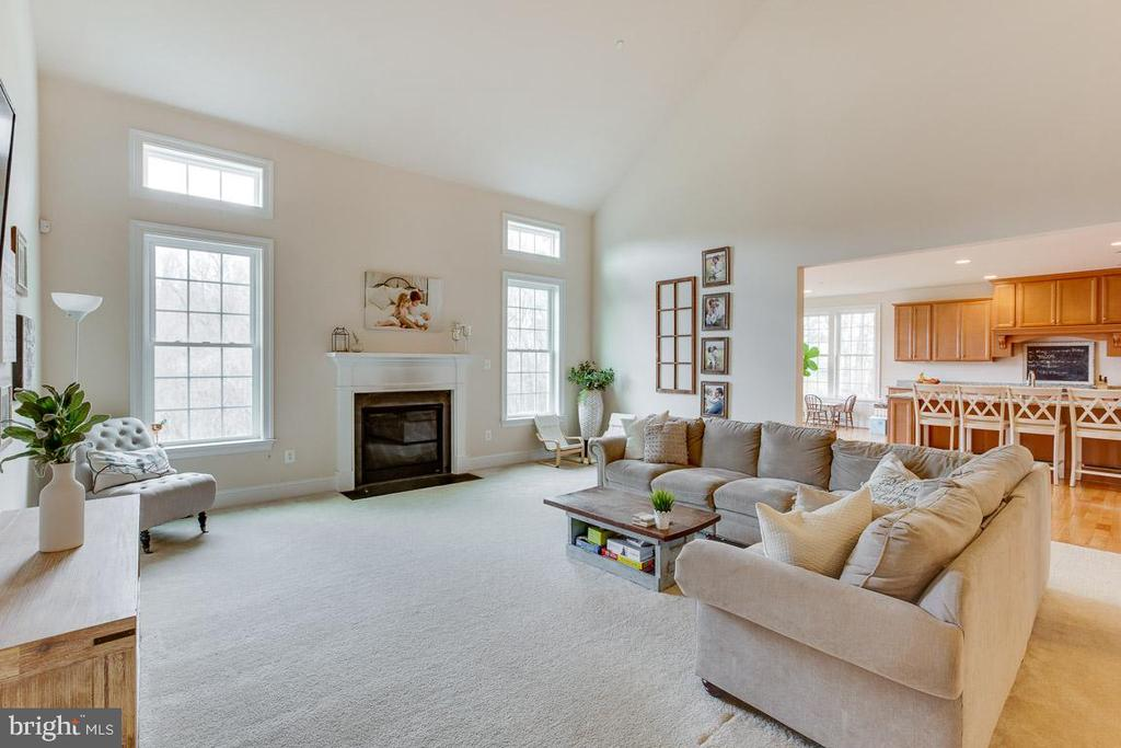 Great Room has a beautiful gas fireplace - 2955 BRUBECK TER, IJAMSVILLE