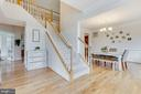 Gorgeous foyer with crown molding welcomes you - 2955 BRUBECK TER, IJAMSVILLE