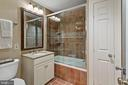 Lower Level Full Bathroom - 3087 ORDWAY ST NW, WASHINGTON