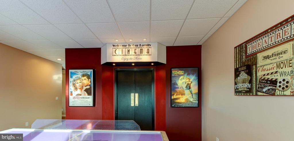Entrance to Theater Room - 7480 DON RD, MINERAL