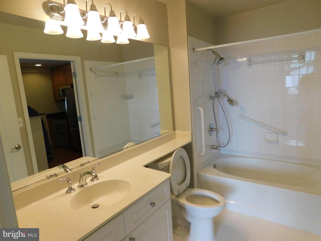 Bathroom - 11700 OLD GEORGETOWN RD #314, NORTH BETHESDA
