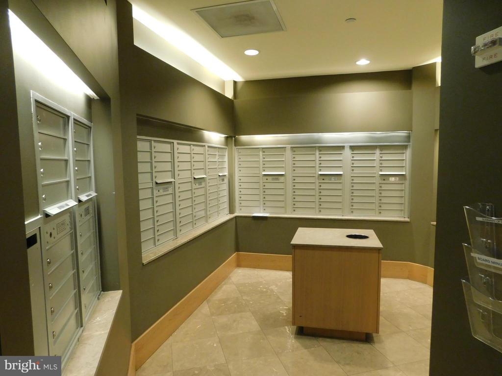 Mail Room next to Front Desk - 11700 OLD GEORGETOWN RD #314, NORTH BETHESDA