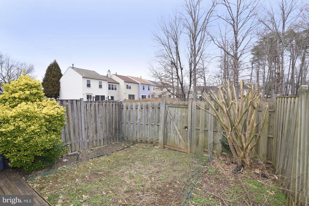 lovely garden area - 14776 BASINGSTOKE LOOP, CENTREVILLE