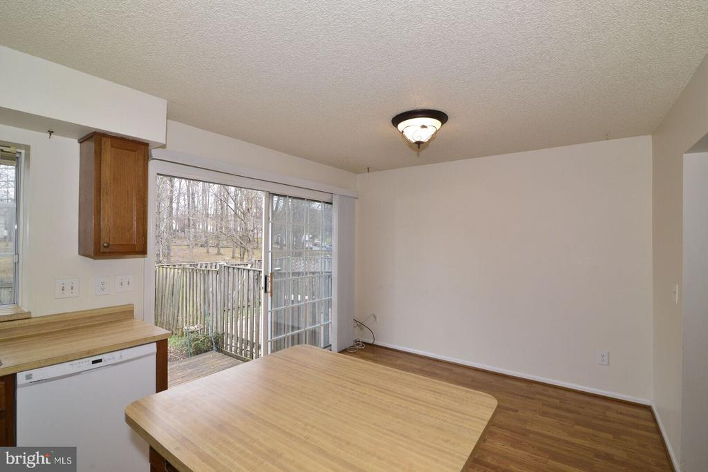 eating area in kitchen - 14776 BASINGSTOKE LOOP, CENTREVILLE