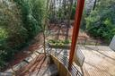 View of Yard From Rear Bedrooms - 4708 DORSET AVE, CHEVY CHASE