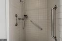 Separate Shower in Master Bathroom - 4708 DORSET AVE, CHEVY CHASE