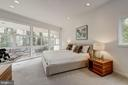 Master Bedroom Suite with Wonderful Views - 4708 DORSET AVE, CHEVY CHASE