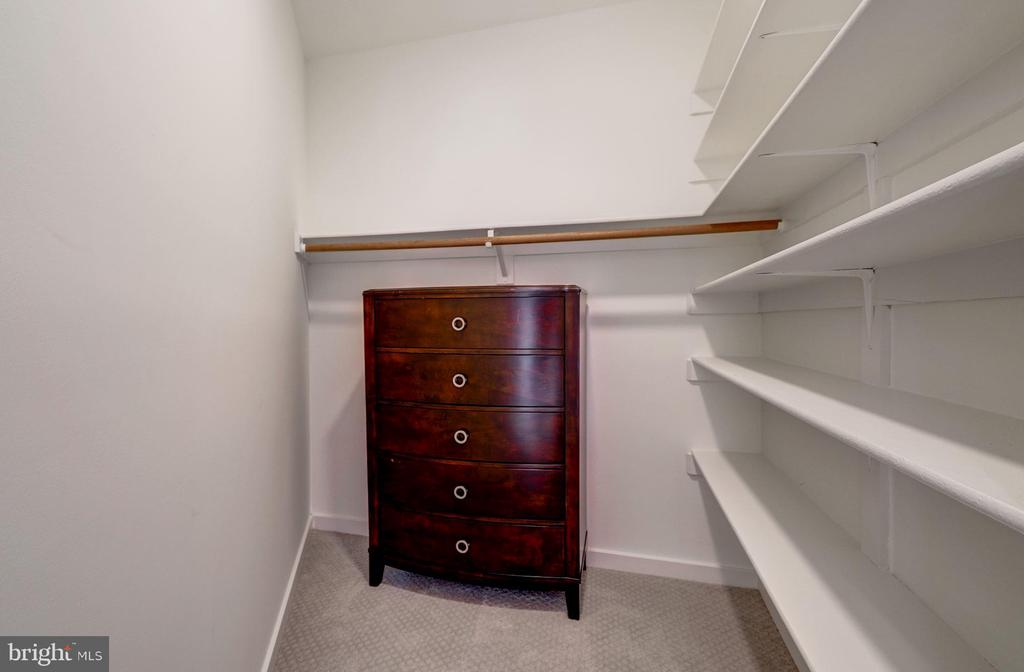Enormous Walk-In Hall Closet - 4708 DORSET AVE, CHEVY CHASE