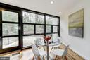 Breakfast Room with Access to Deck - 4708 DORSET AVE, CHEVY CHASE