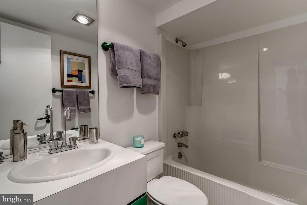 Lower Level Full Bathroom - 4708 DORSET AVE, CHEVY CHASE