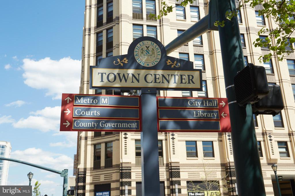 Rockville Town Center is nearby, - 500 GREAT FALLS RD, ROCKVILLE