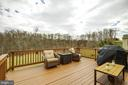 Deck & View of Trees - 18751 PIER TRAIL DR, TRIANGLE