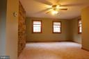 Family room or main level master - 35820 CHARLES TOWN PIKE, HILLSBORO