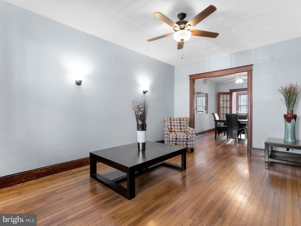 Bright formal living room - 438 INGRAHAM ST NW, WASHINGTON