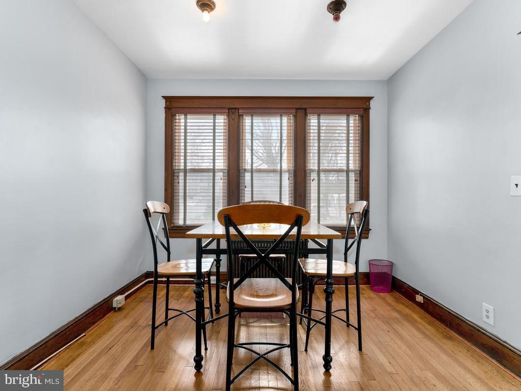 Breakfast or sun room off Kitchen - 438 INGRAHAM ST NW, WASHINGTON