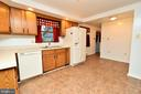 Large Kitchen with Plenty of Cabinets - 424 PEMBROKE WAY, CHARLES TOWN