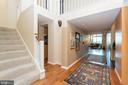 Welcoming Entry. Even the foyer has water view! - 2901 BOSTON ST #214, BALTIMORE