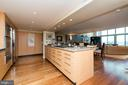 Chic Kitchen with tons of cabinetry. - 2901 BOSTON ST #214, BALTIMORE