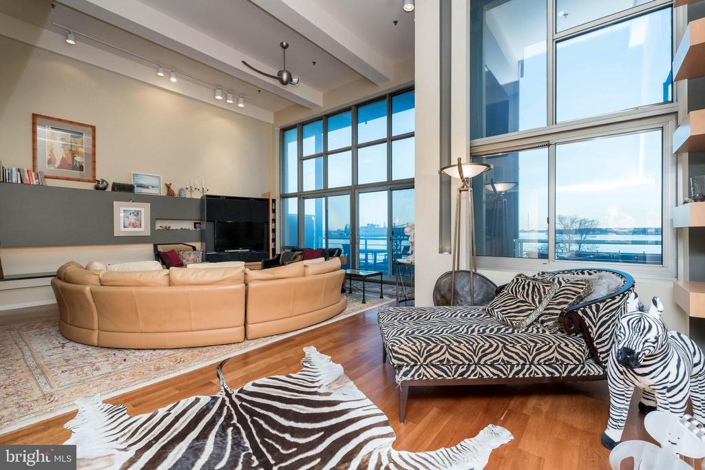 Soaring ceilings!  View to Fort McHenry! - 2901 BOSTON ST #214, BALTIMORE