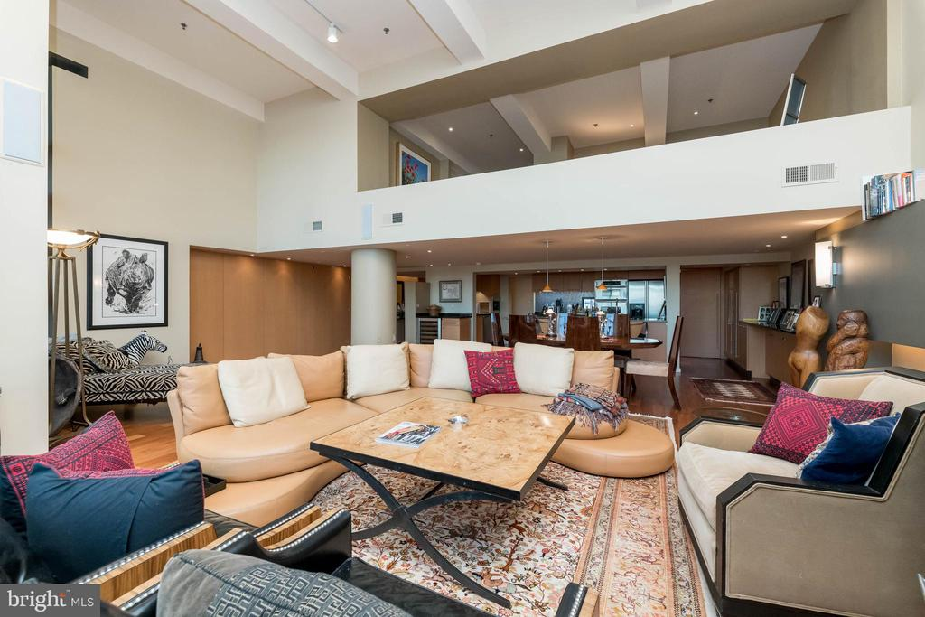 Wide open spaces with defined LR/DR. - 2901 BOSTON ST #214, BALTIMORE