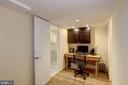 Lower Level Home Office - 1690 32ND ST NW, WASHINGTON