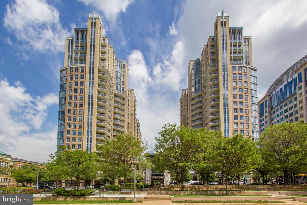 View of towers from Park - 11990 MARKET ST #1017, RESTON