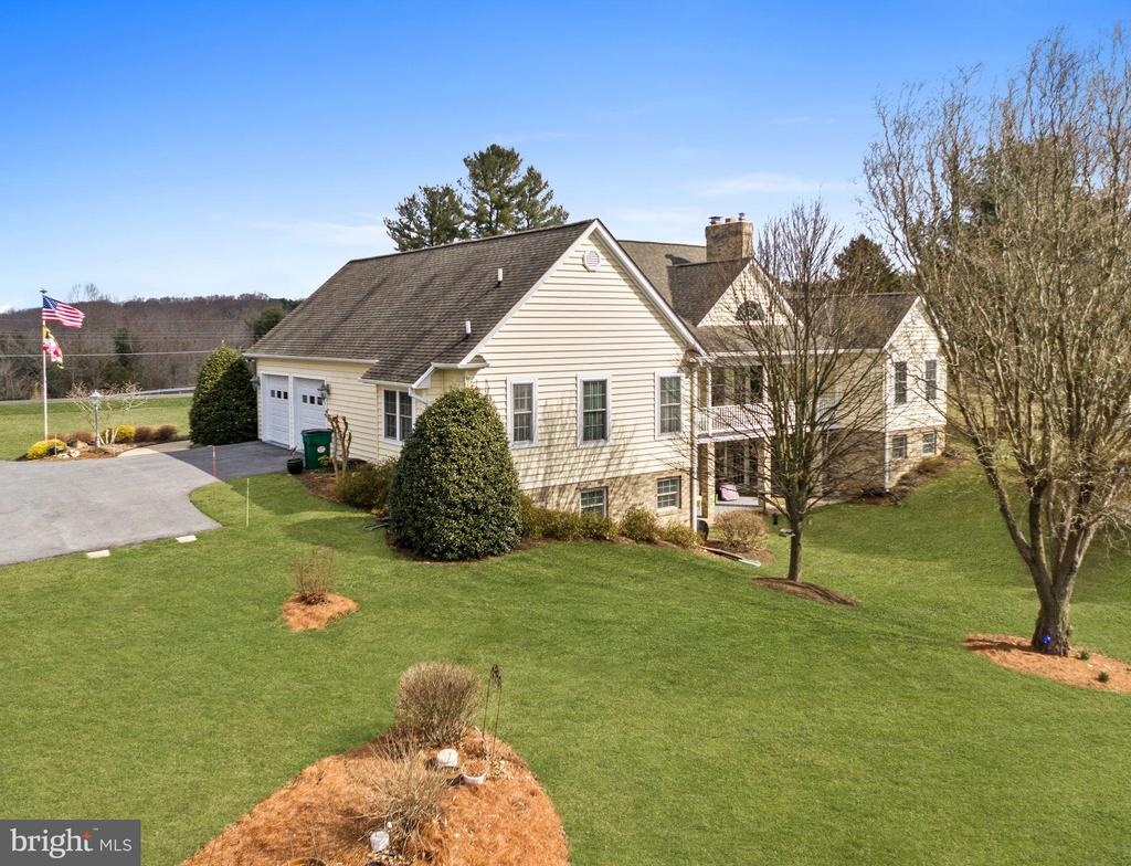 Closer side view - 2407 FLAG MARSH RD, MOUNT AIRY