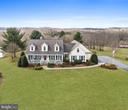 Aerial Front View - 2407 FLAG MARSH RD, MOUNT AIRY