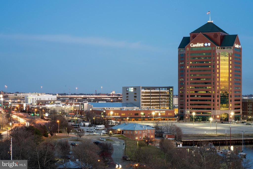 Views from the roof deck.... - 2901 BOSTON ST #214, BALTIMORE