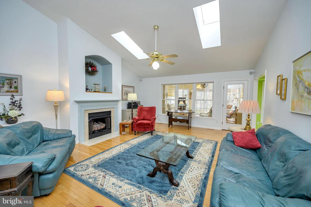 Great Room showing view of Sunroom. - 509 MT PLEASANT DR, LOCUST GROVE