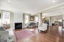 A truly open floorplan - 5536 30TH PL NW, WASHINGTON
